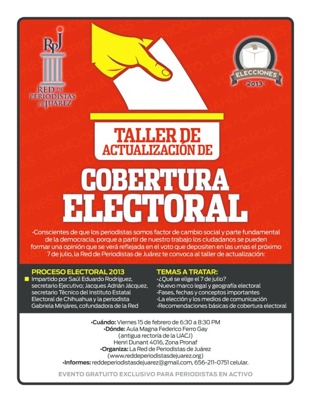 Taller Electoral 2013